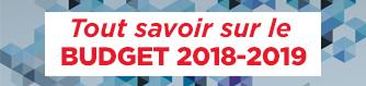 Analyse Twitter du budget du Québec 2018