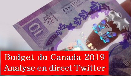 Analyse Twitter du Budget du Canada 2019