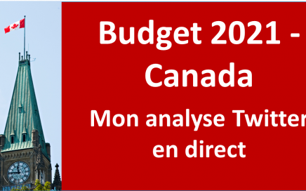 Analyse Twitter du budget 2021 du Gouvernement du Canada