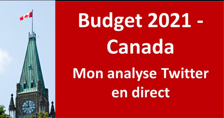 Budget Canada 2021