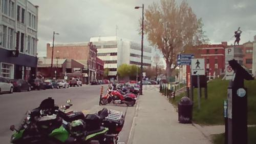 La rue Notre-Dame